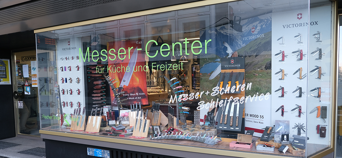 Fischershop und Messercenter Basel